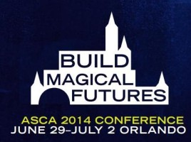 "2014 American School Counselor Association Annual Conference ""Building Magical Futures"" in Orlando, Florida. (Logo)"